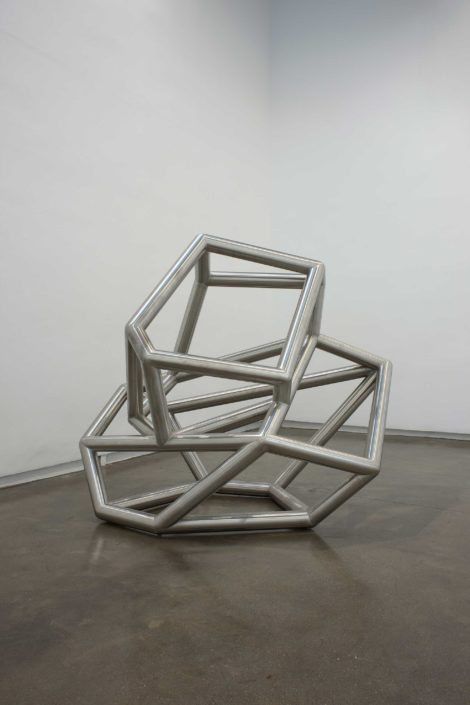 Richard Deacon – Siamese Metal #2, 2008