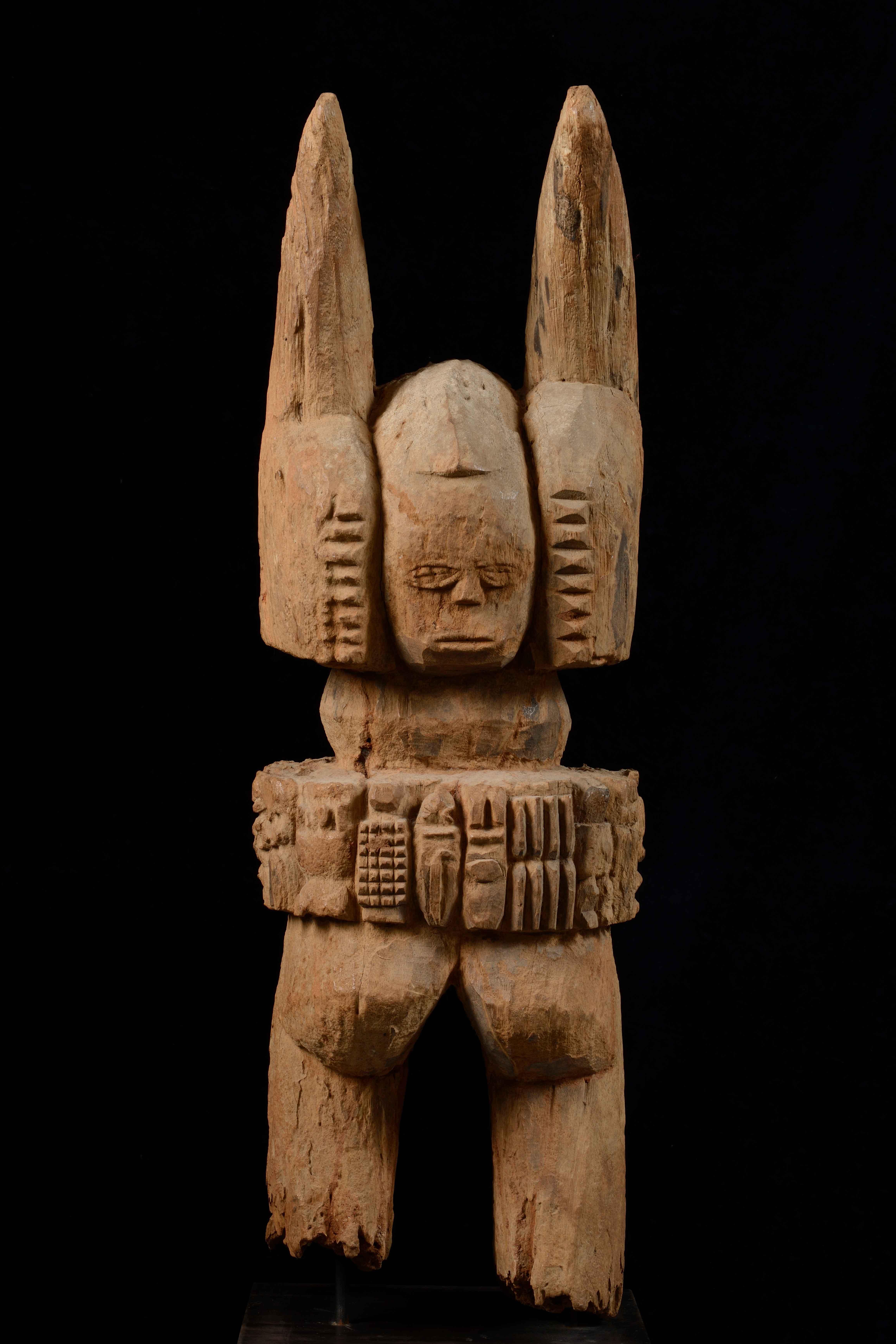 Figura bifronte Ikenga Cultura ibo (Nigeria)