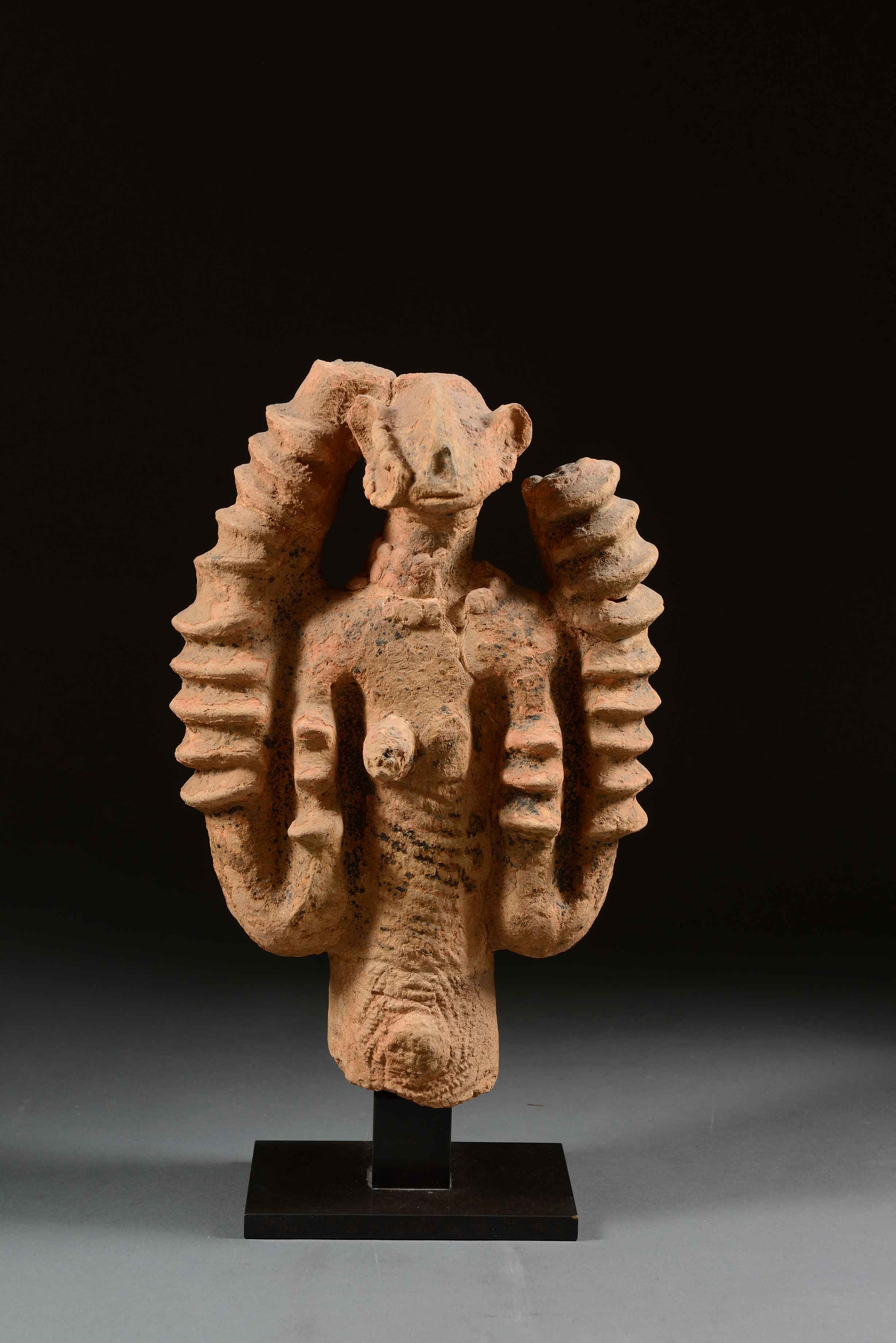 Figura femenina - Cultura segú (Mali)