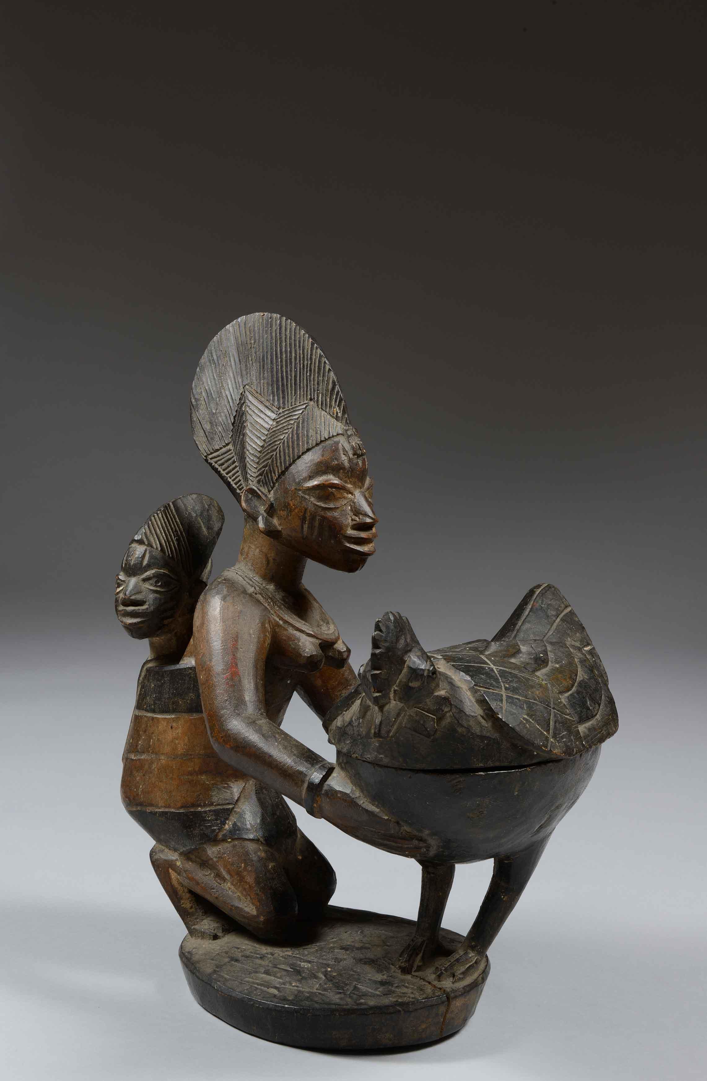 Copa Agere Ifa - Cultura yoruba (Nigeria)