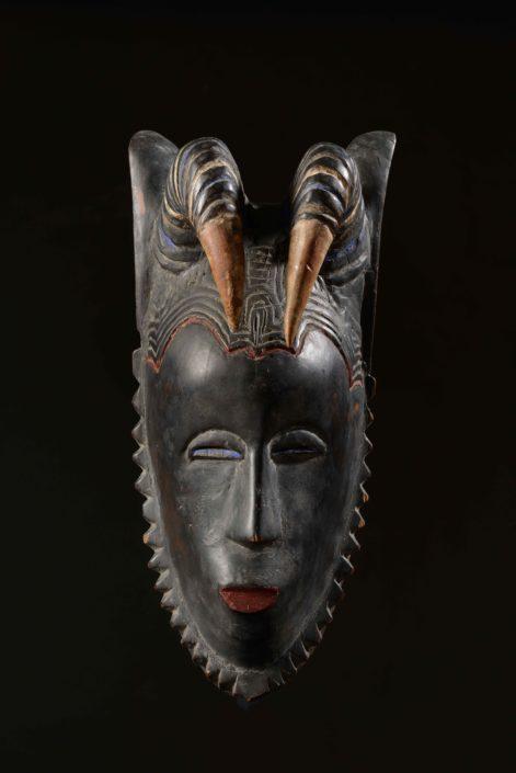Máscara guro - Cultura guro (Costa de Marfil)