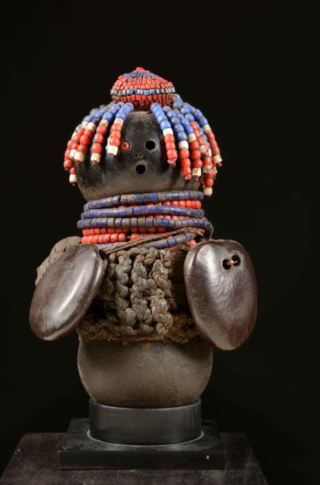 Muñeca de la fertilidad - Cultura mwila (Sur de Ángola)