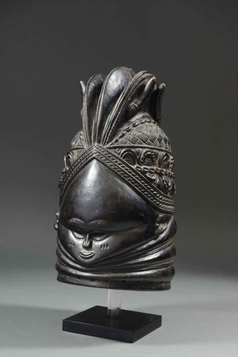 Máscara Sowei - Cultura mende (Sierra Leona).