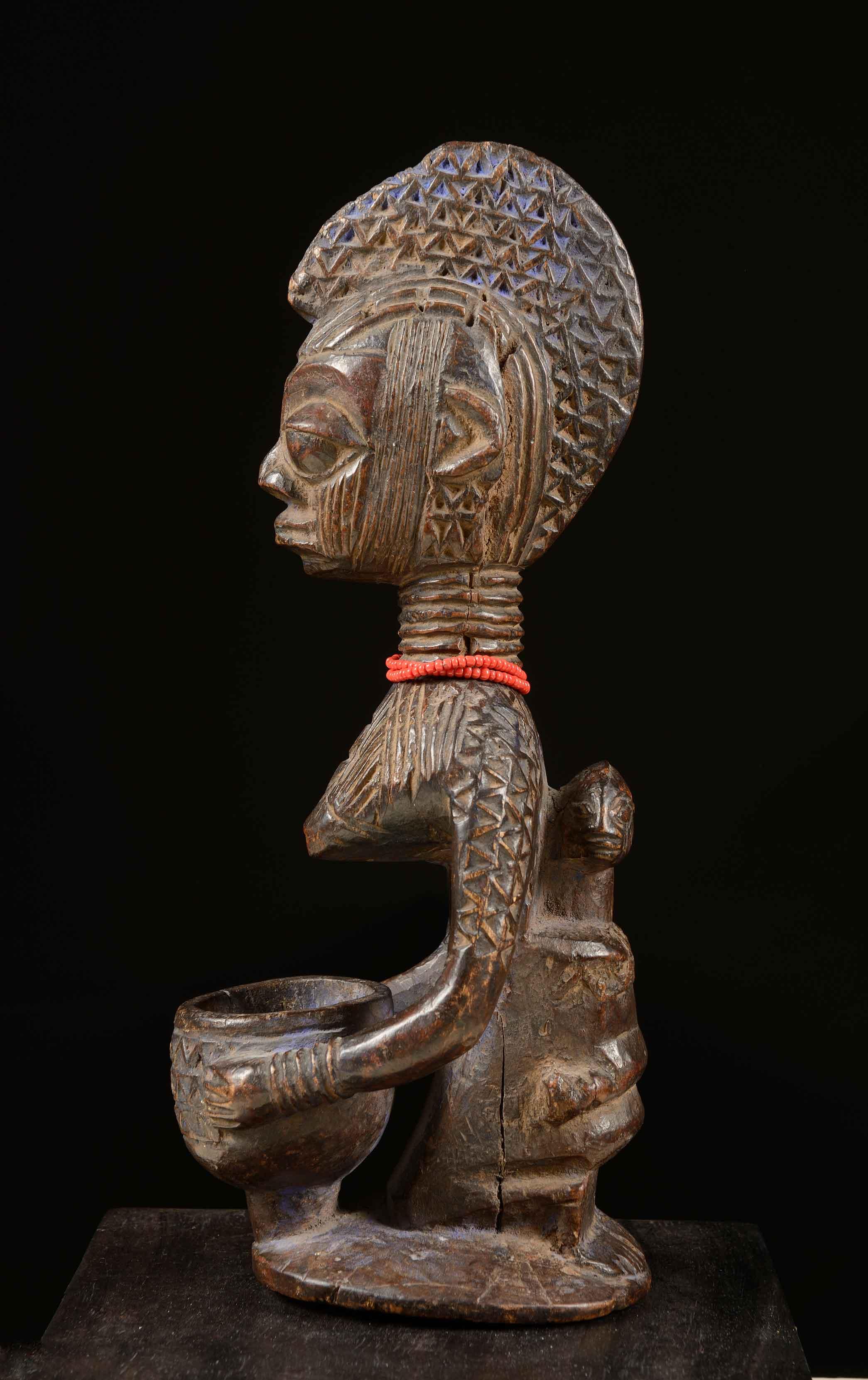 Copa Agere Ifa - Cultura yoruba. Región Kwara (Nigeria)
